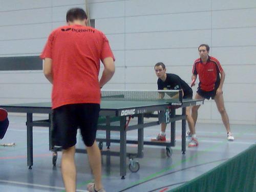 Erwin Mert/Marco Lang belegen den 3. Platz im Herren Doppel C