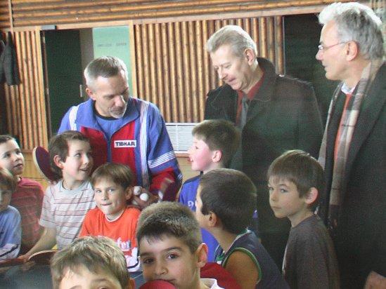 Tischtennis erobert GHS in Lichtenau