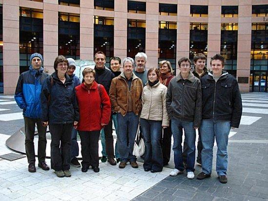 Der TTV zu Gast im Europäischen Parlament für Menschenrechte in Strasbourg