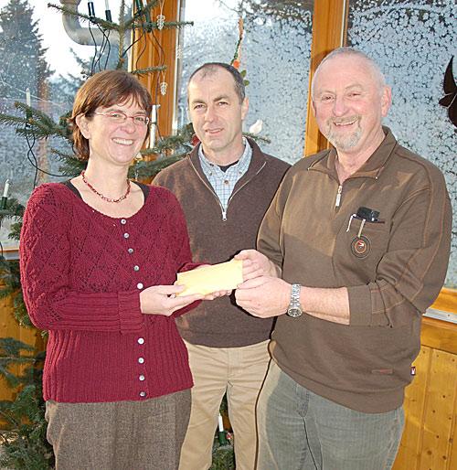Spendenübergabe an den Spastikerverein Offenburg