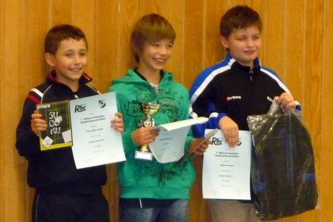 Tim Julian erringt Podestplätze bei Rastatter Stadtmeisterschaften