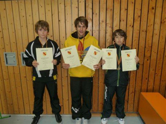 Janik Heiland und Tim Julian Oelze mit jeweils 2 Medaillen