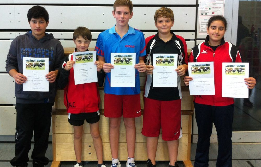 TTV Muckenschopf stellt zwei Tischtennis-Bezirkssieger im Schüler- und Jugendbereich