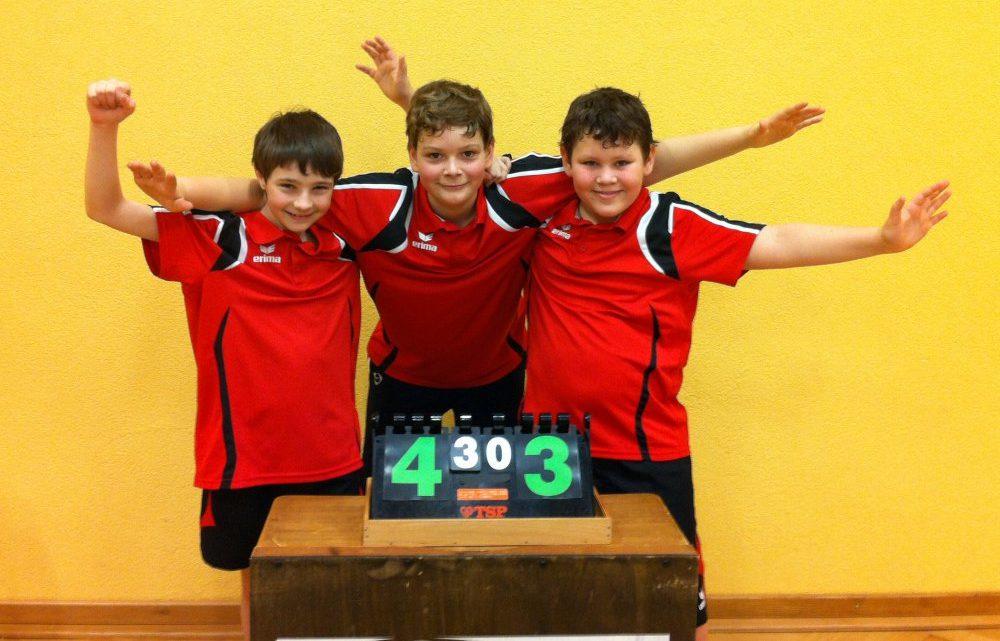 Schüler II stehen im Jungen U15 Pokalhalbfinale