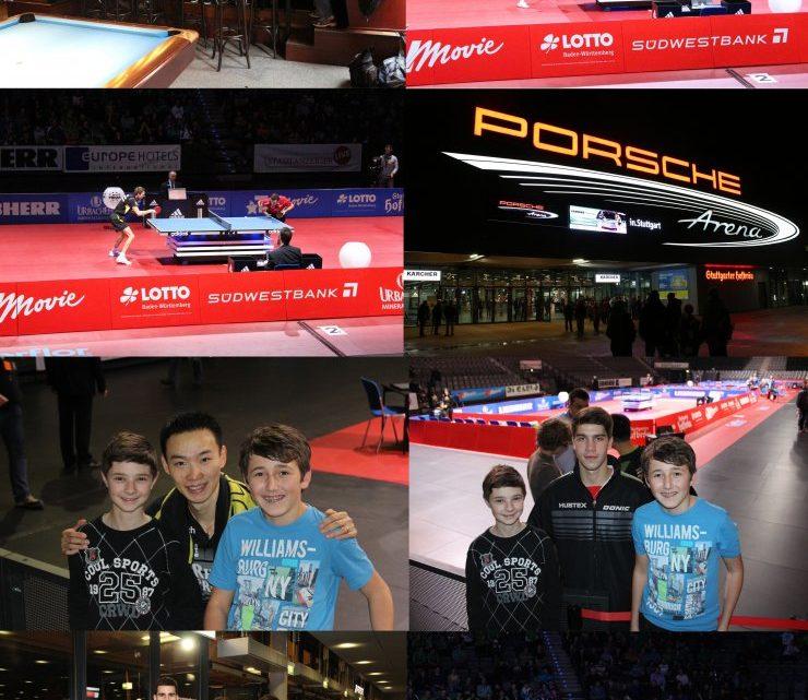 TTV'ler erleben Tischtennis der Spitzenklasse in der Porsche Arena