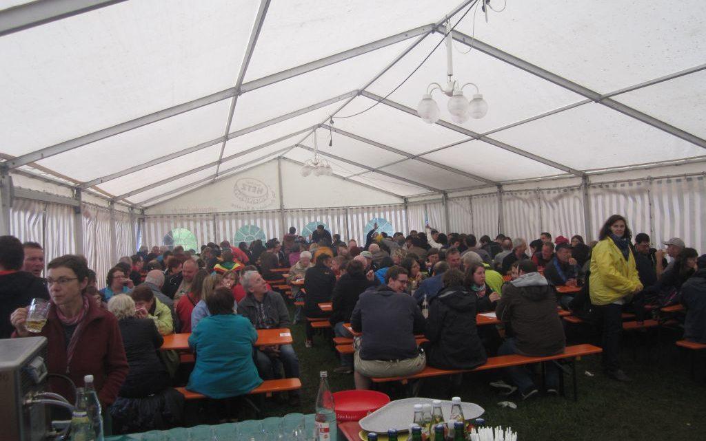 Gut besuchtes 1. Mai-Fest des TTV trotz Schlechtwetterprognosen