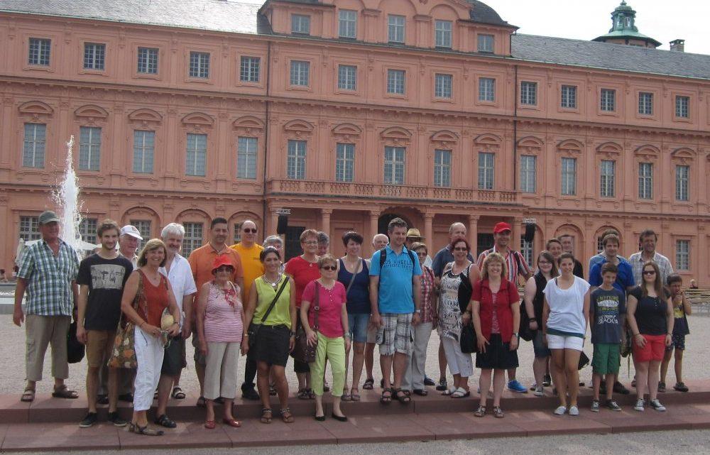 Sommerausflug des TTV Muckenschopf führte nach Rastatt