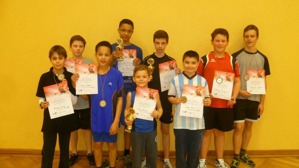 Jugend-Vereinsmeisterschaften des TTV Muckenschopf mit großer Beteiligung – Nico Clevers gelingt Titelverteidigung