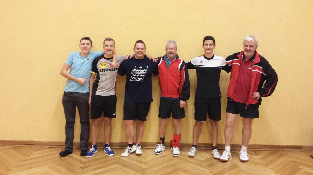 Florian Koch und Albert Wahl werden Vereinsmeister 2016