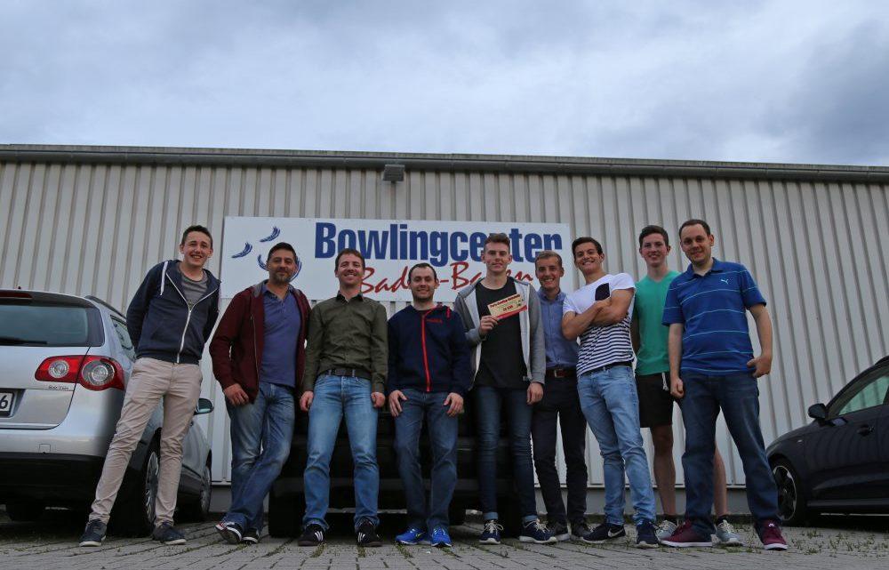 Rundenabschluss: Bowling