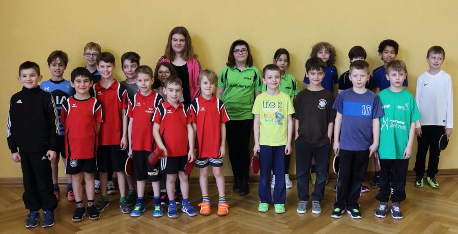 Tischtennis-Turnier für Anfänger in Muckenschopf