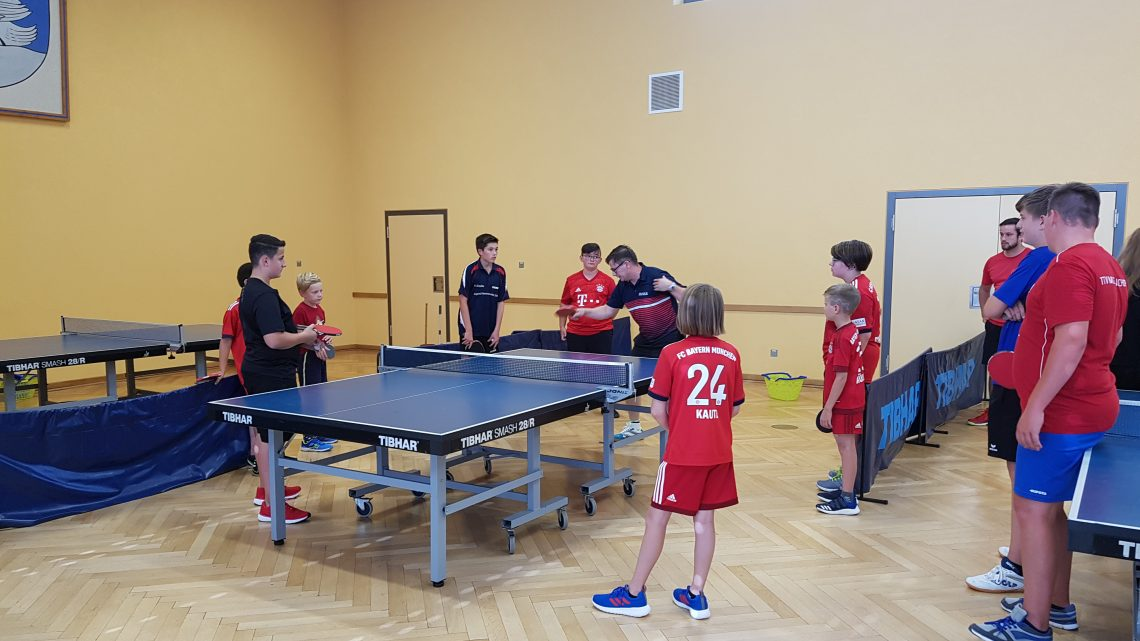 Lehrgang mit A-Lizenz Trainer Andrzej Kaim