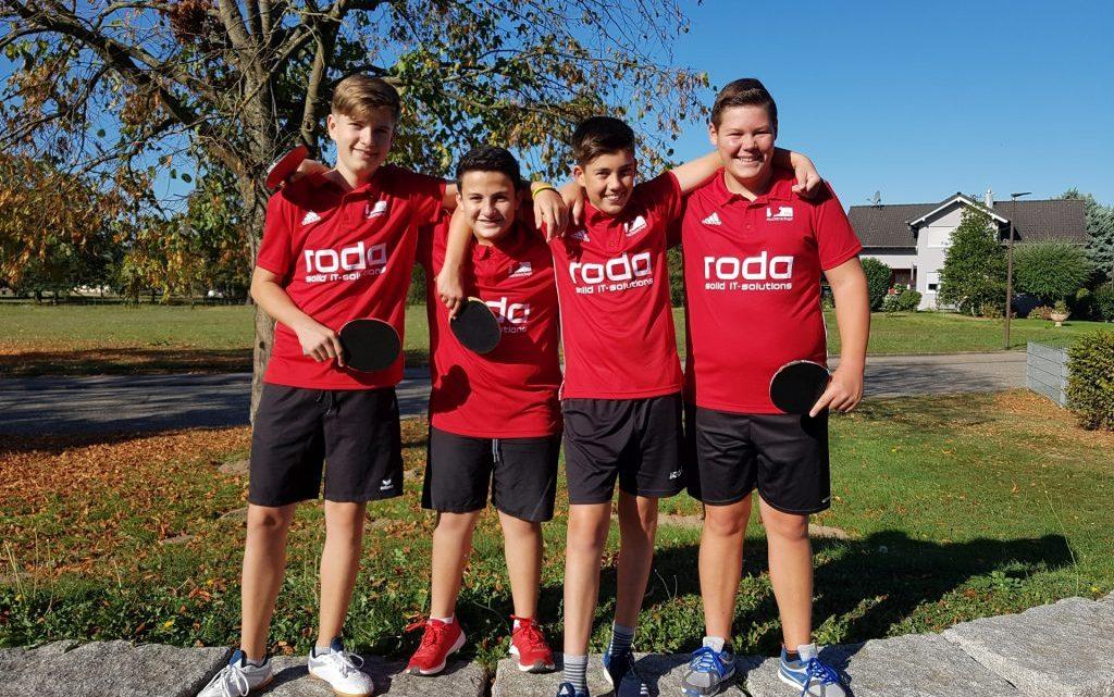 TTC Rauental 3-Jungen U18->5-5