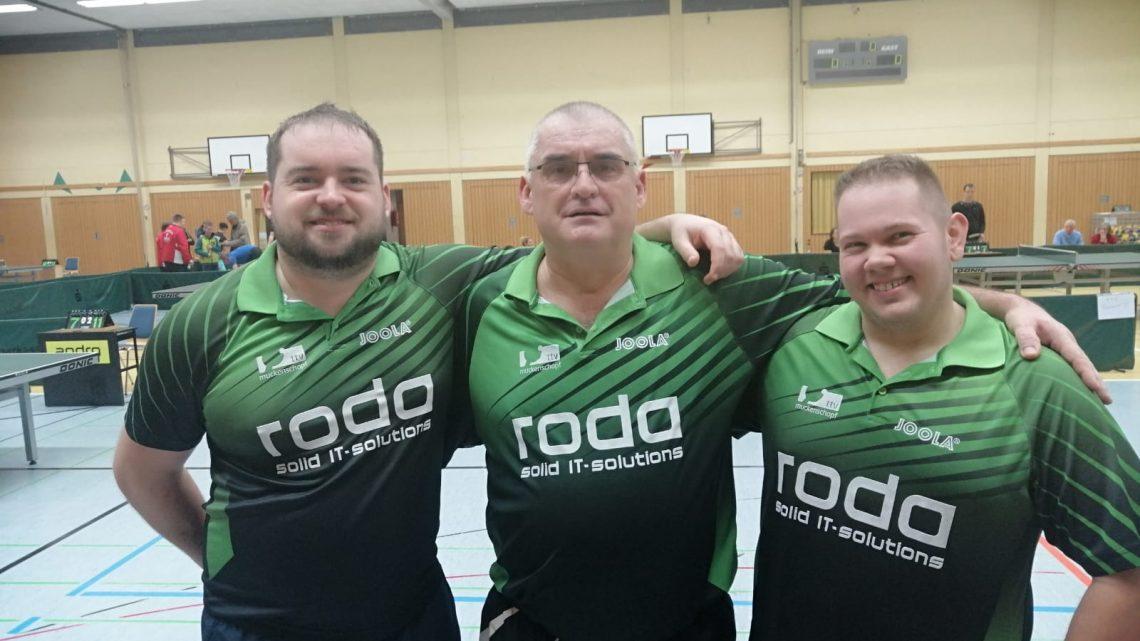 A Pokal Finale : Herren 1-TTB Rastatt 1->1-4