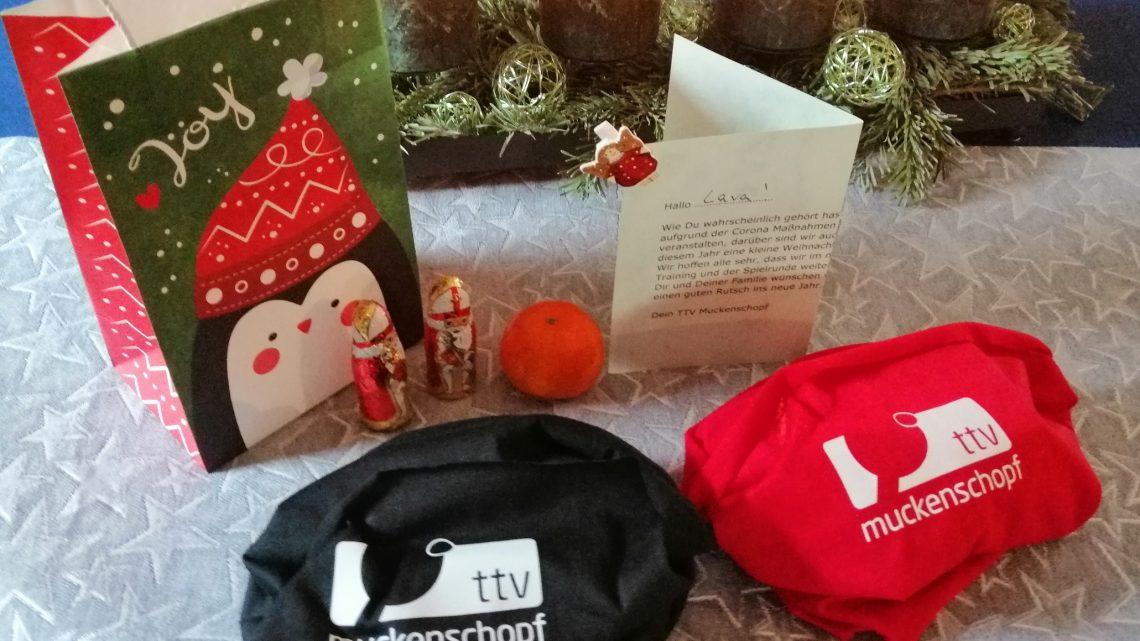Sachets de Noël du TTV pour les jeunes