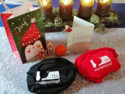 TTV-Weihnachtstüte für die Jugendlichen